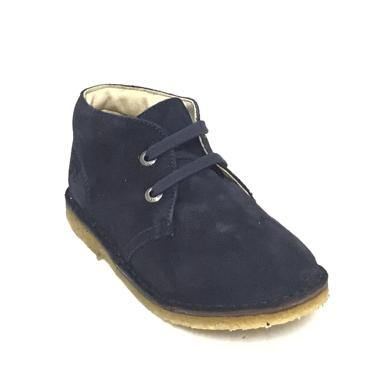 Naturino Blue Velour Laced Shoe