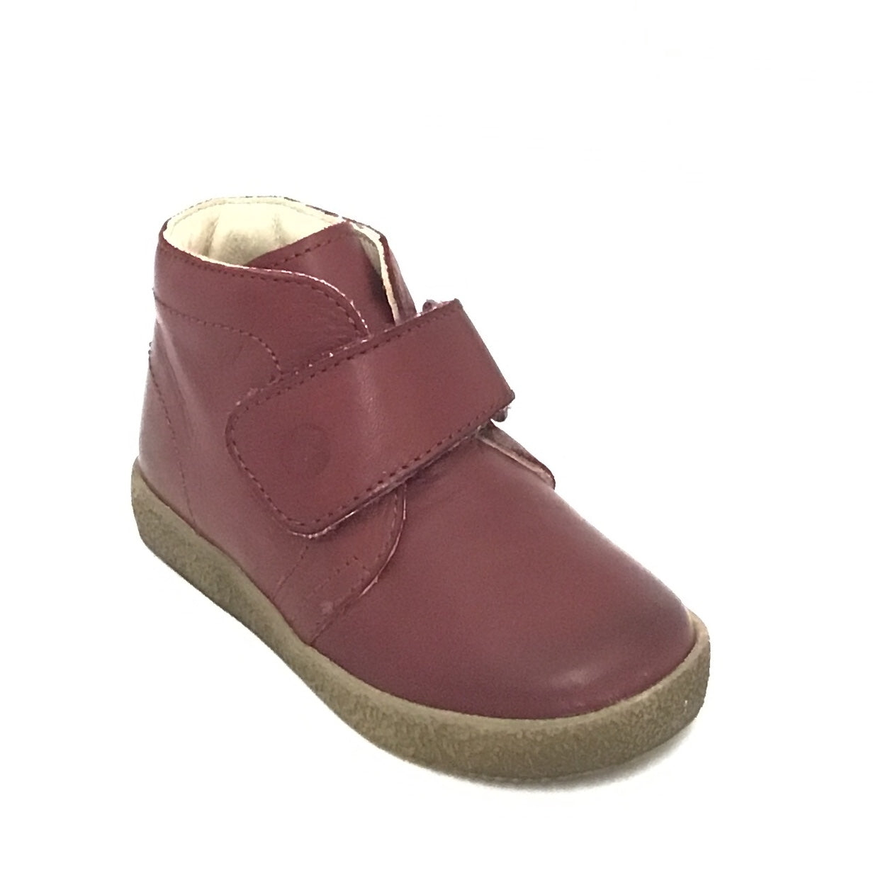 Falcotto Burgundy Shoe with Velcro