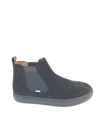 Venettini Black Suede Boot