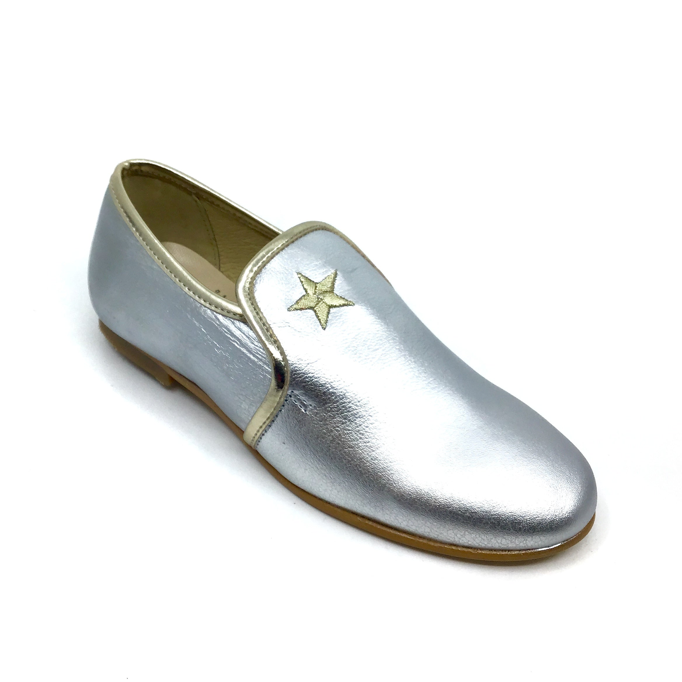 Luccini Silver Slip On with Star