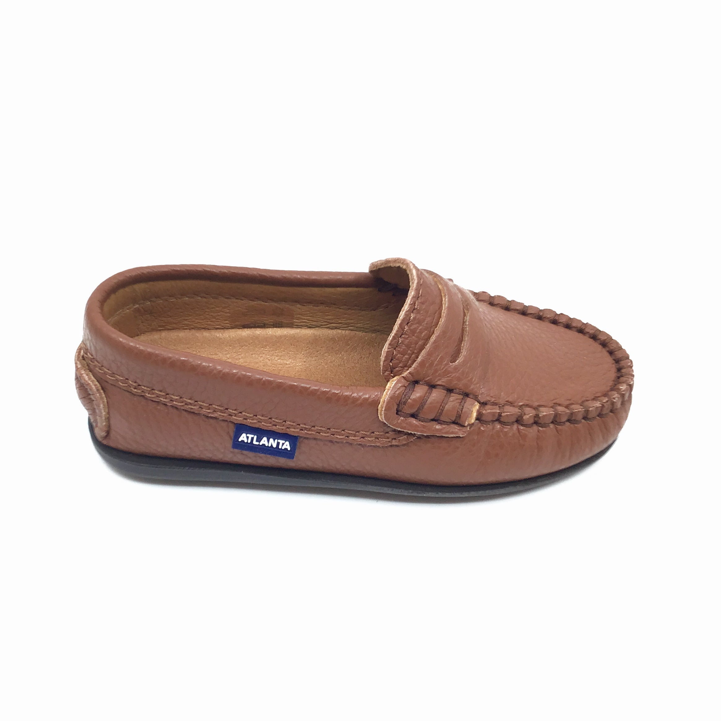 Atlanta Brown Penny Loafer