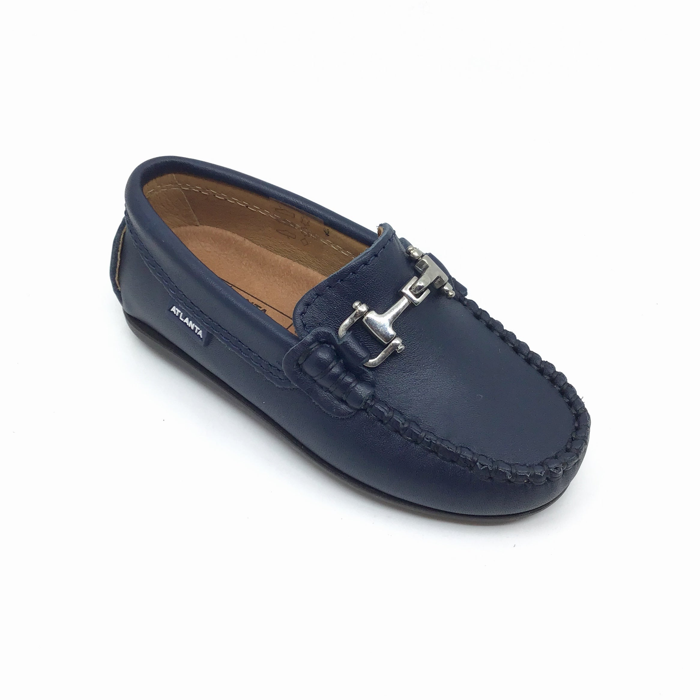 Atlanta Blue Loafer with Chain
