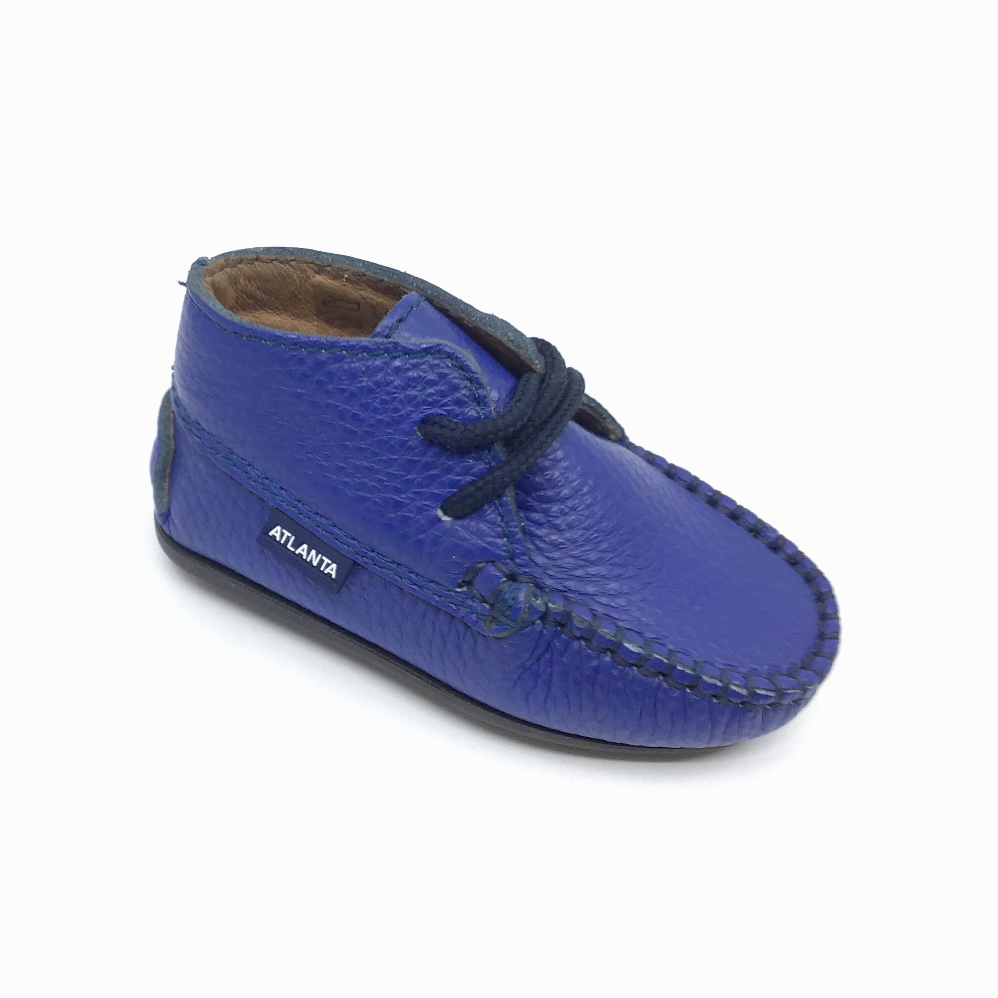 Atlanta Blue Baby Shoe