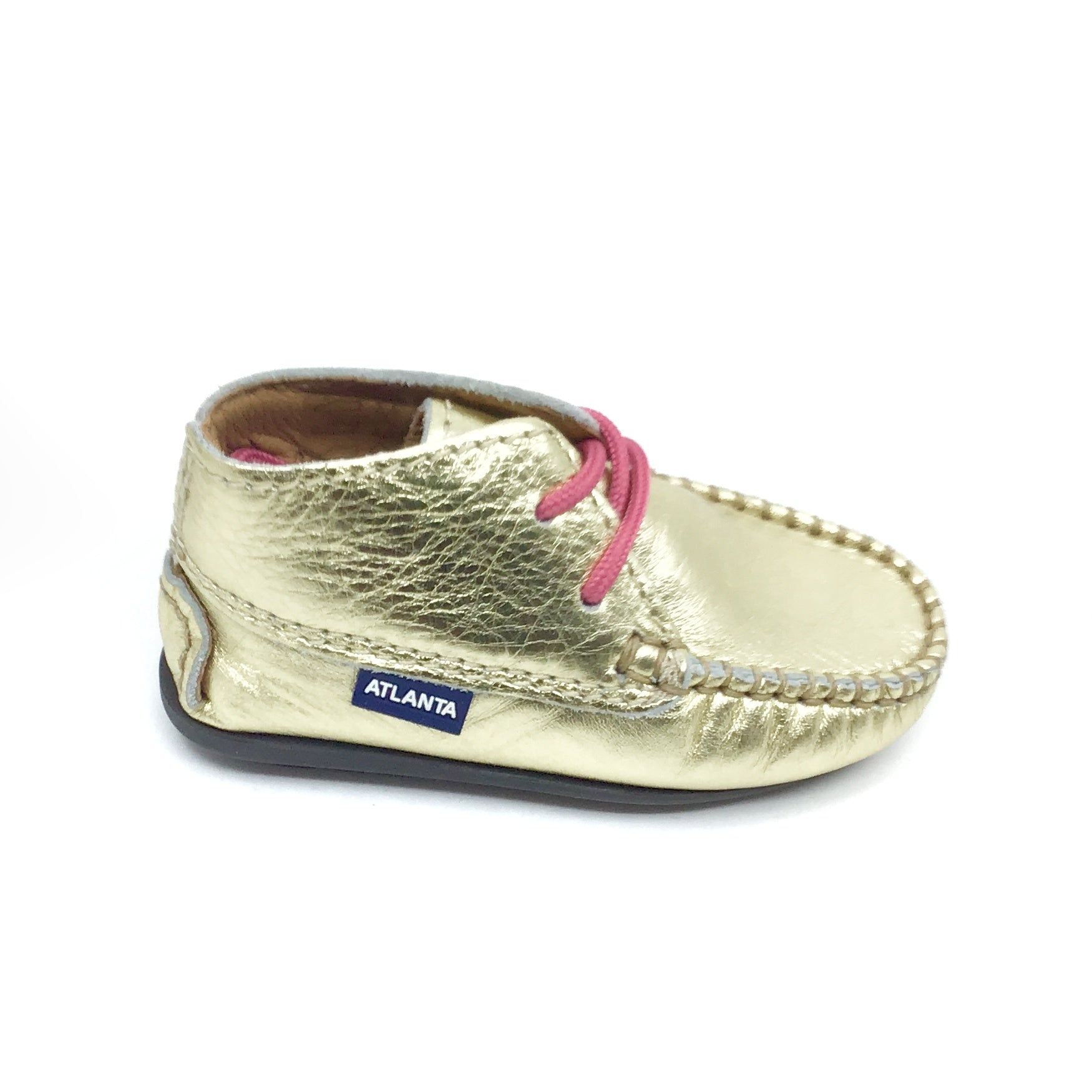 Atlanta Gold Baby Shoe