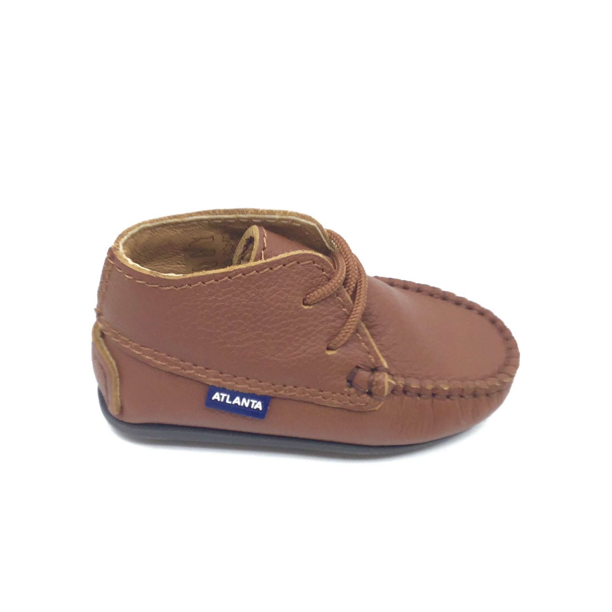 Atlanta Brown Baby Shoe