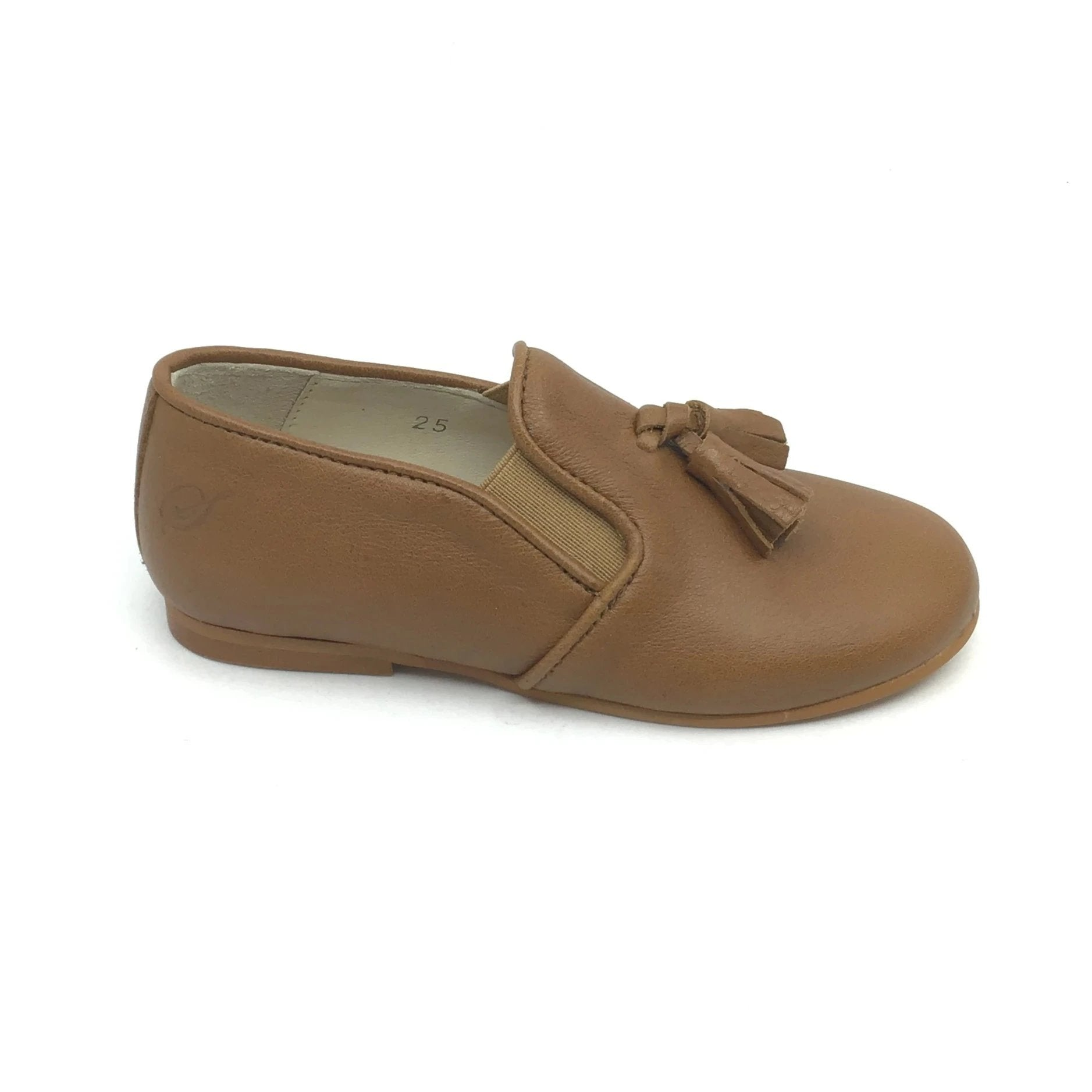 Sonatina Brown Tassle Slip-on