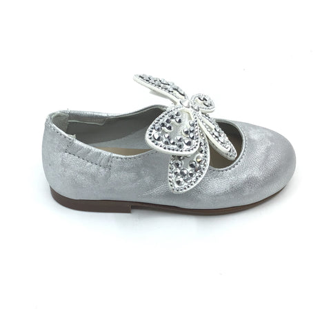 Papanatas Silver Butterfly Mary Jane