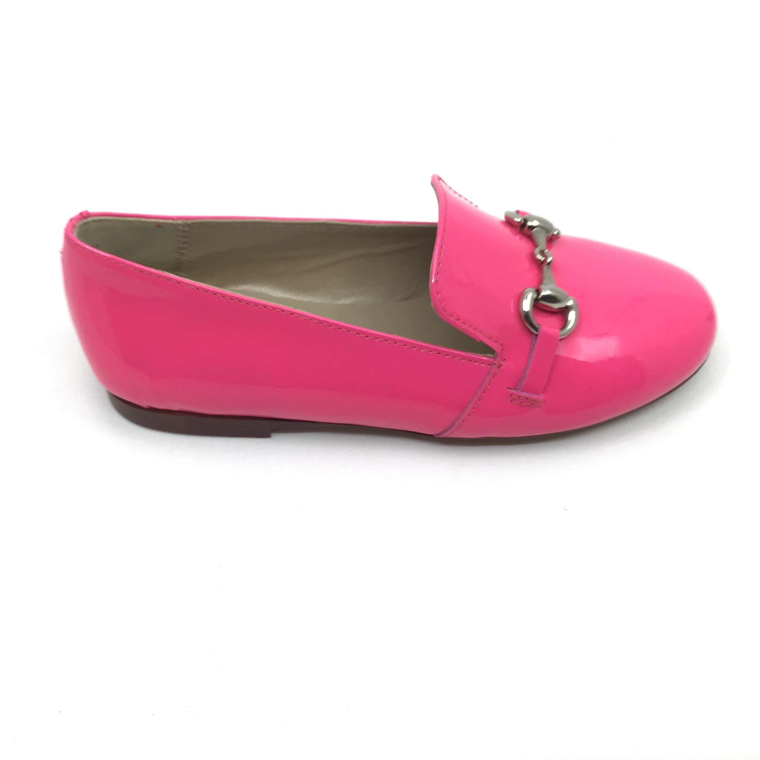Papanatas Fuschia Loafer with Chain