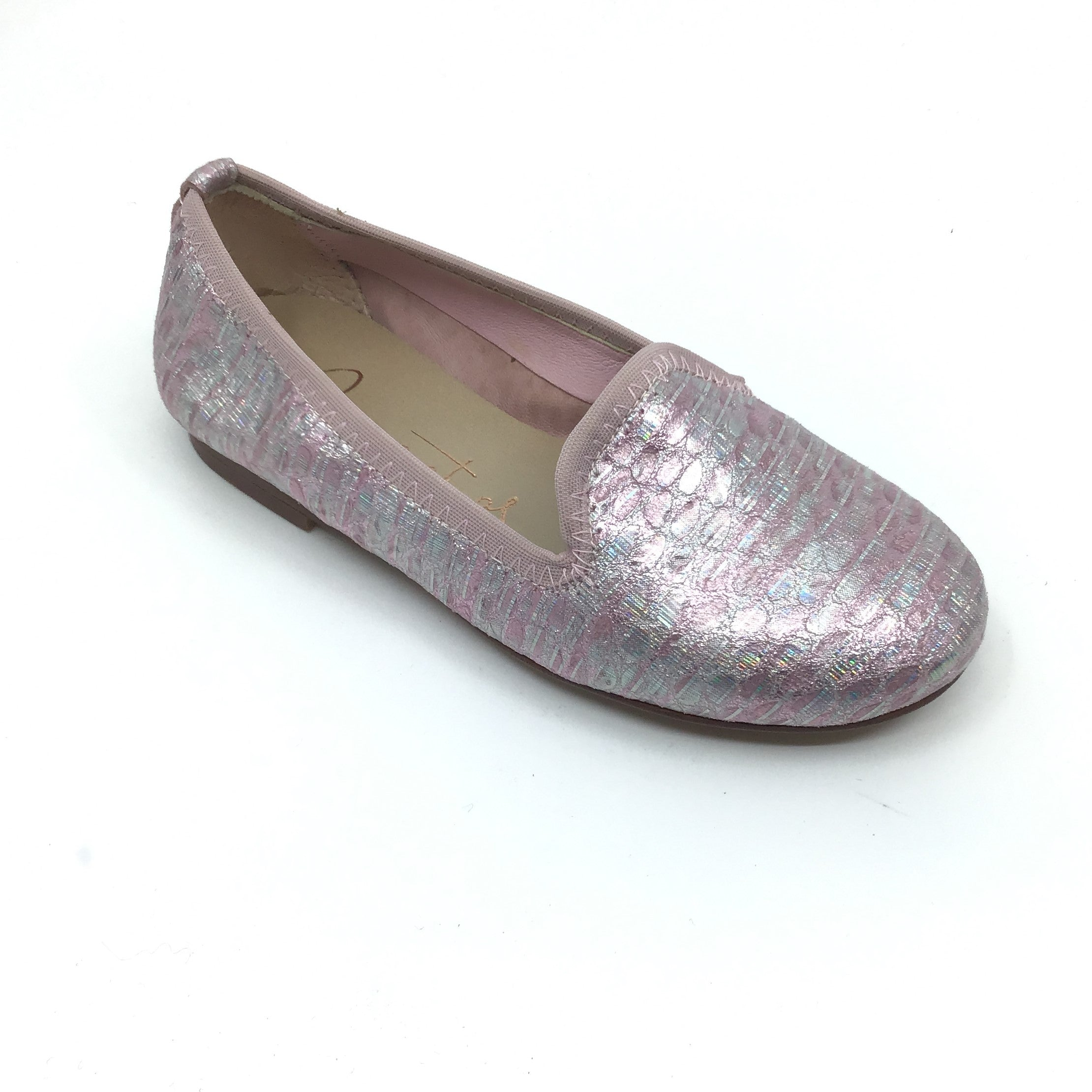 Papanatas Pink Print Slip On