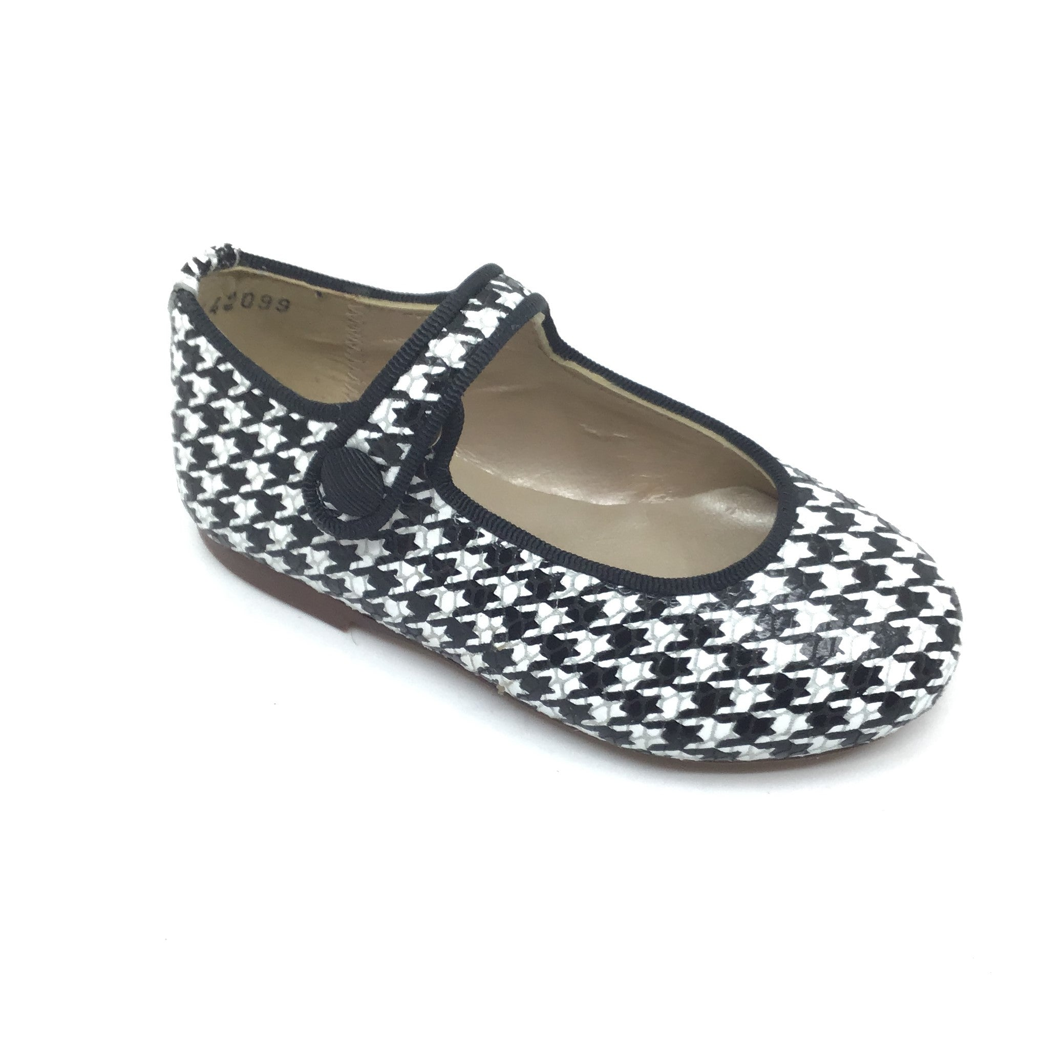Papanatas Houndstooth Mary Jane