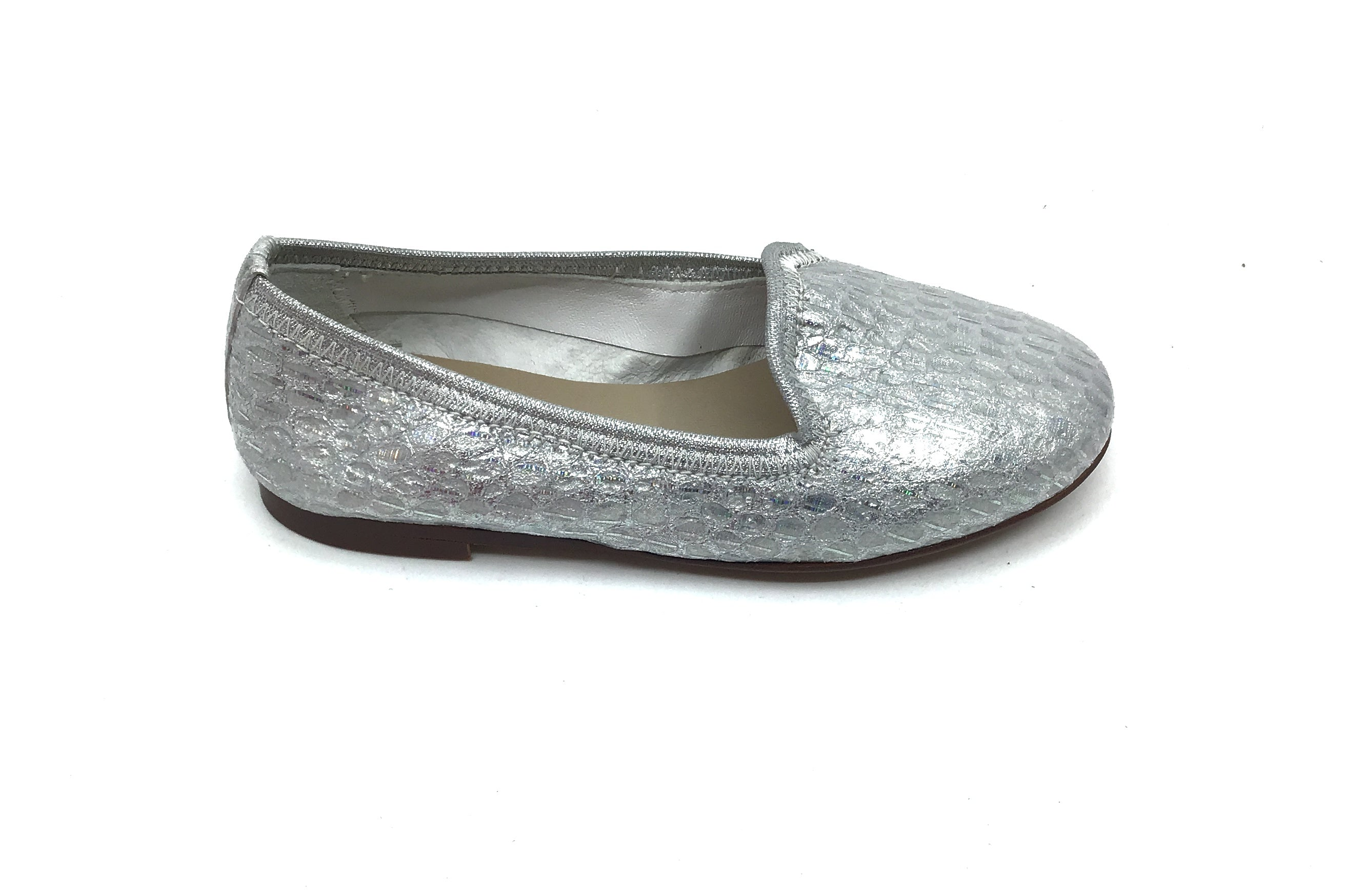 Papanatas Silver Print Slip On