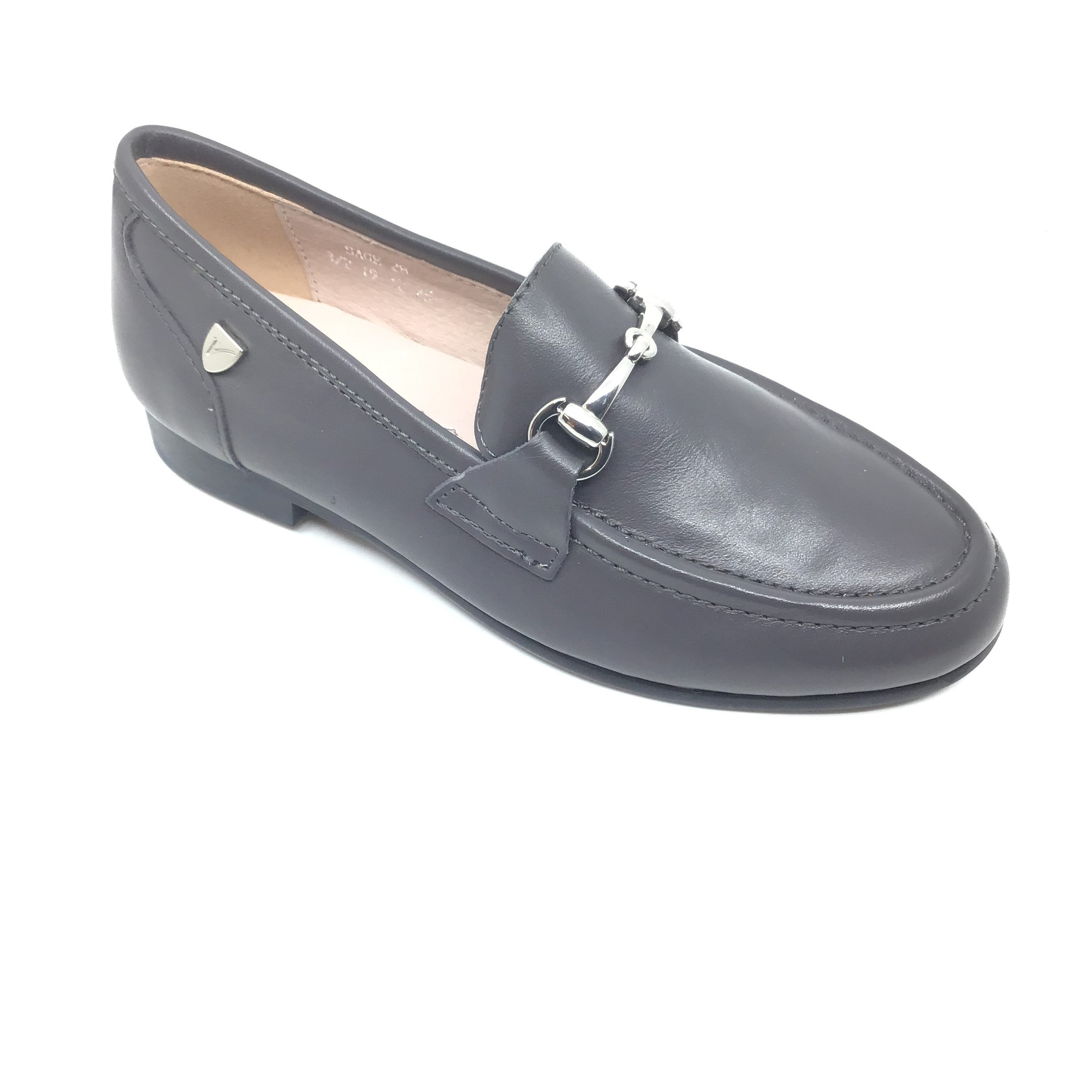 Venettini Gray Dress Slip On with Chain