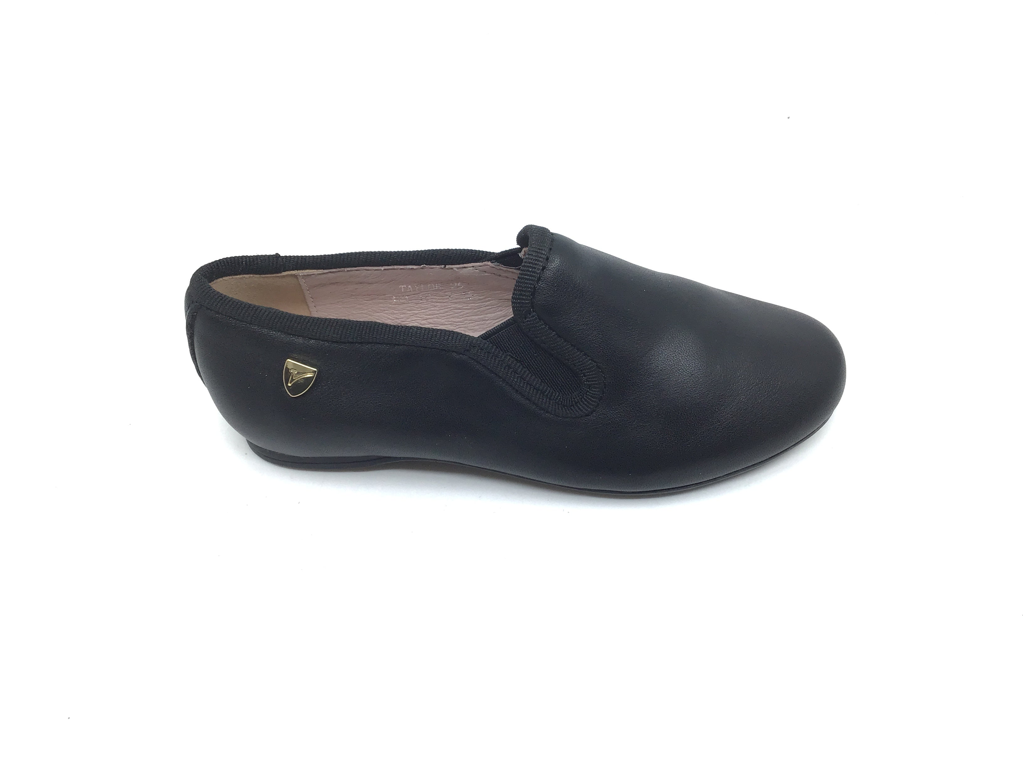 Venettini Black Elastic Dress Shoe