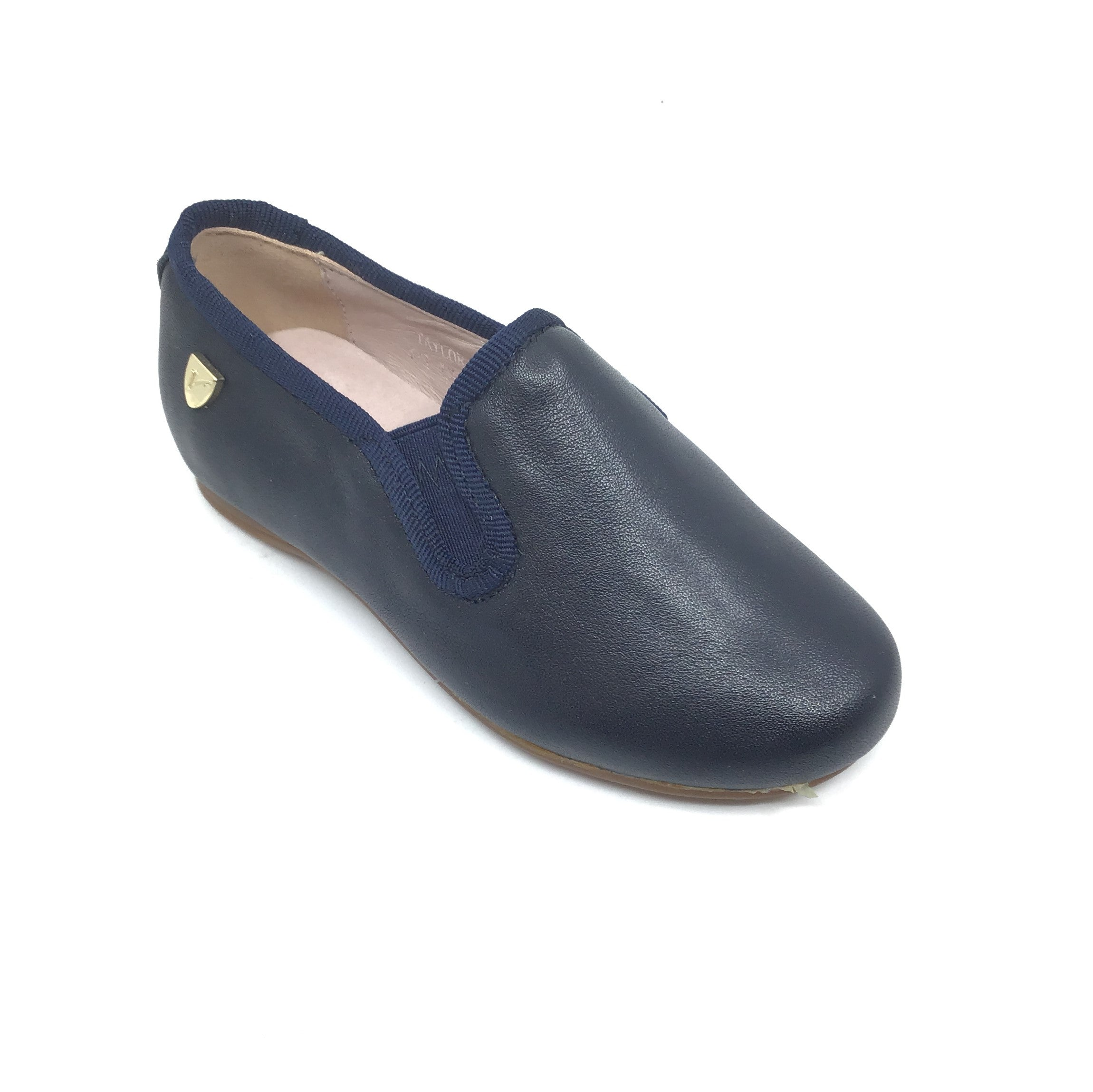 Venettini Navy Elastic Loafer