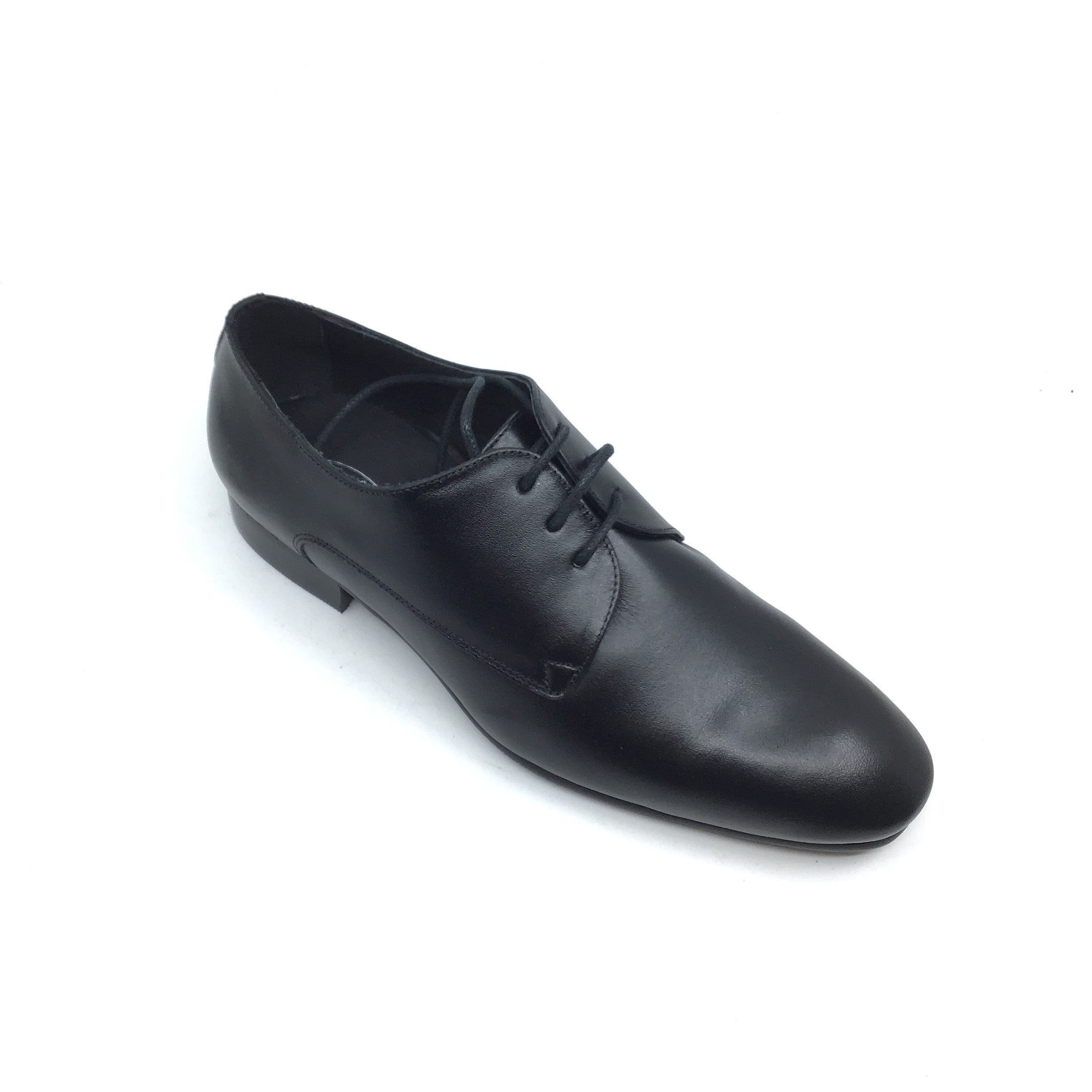 Venettini Black Lace Up Shoe