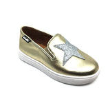 Venettini Gold Slip On with Star