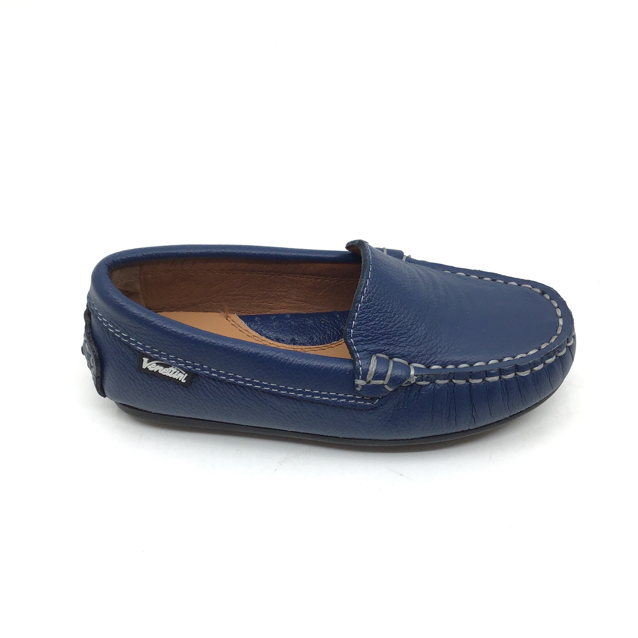 Venettini Blue Moccassin