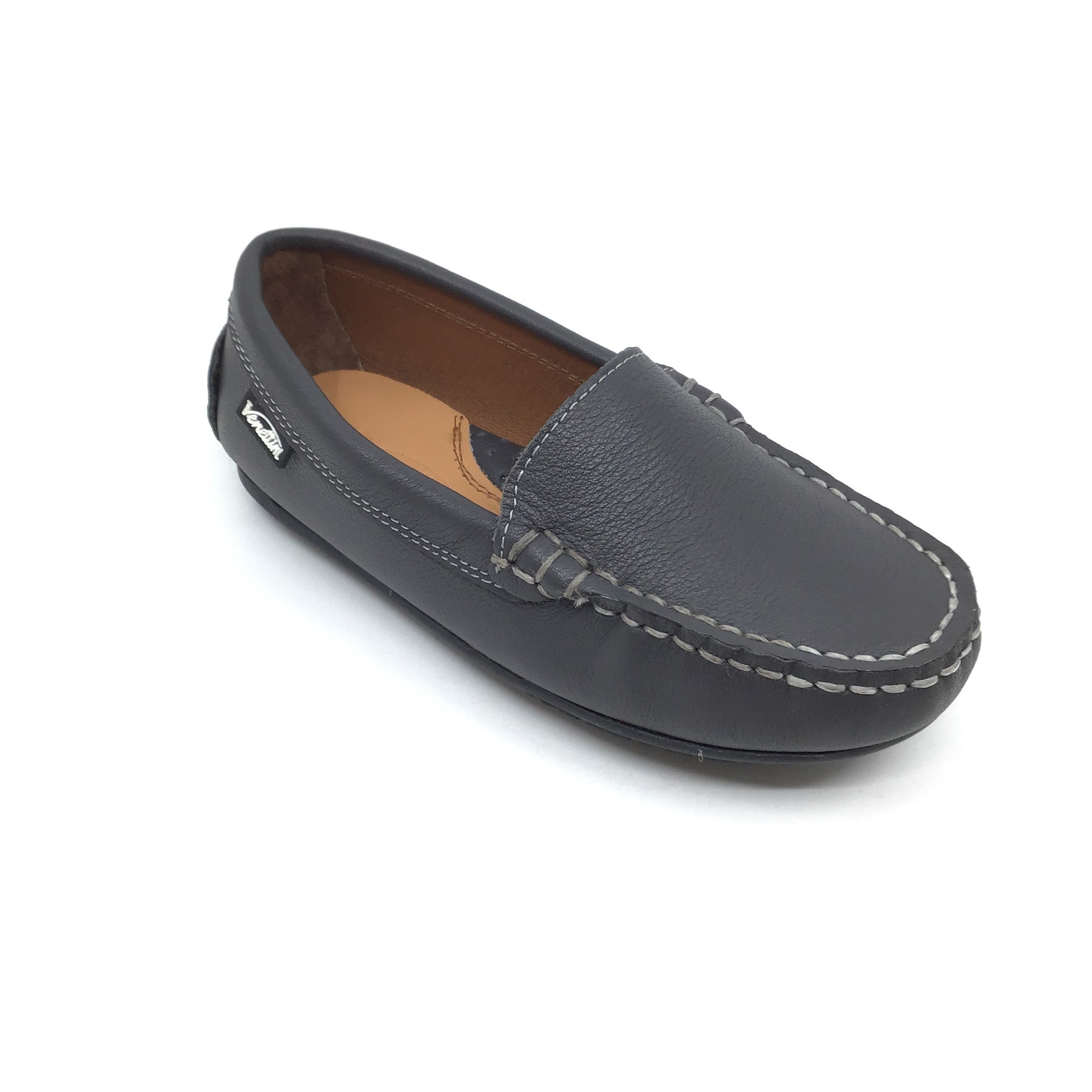 Venettini Gray Moccassin