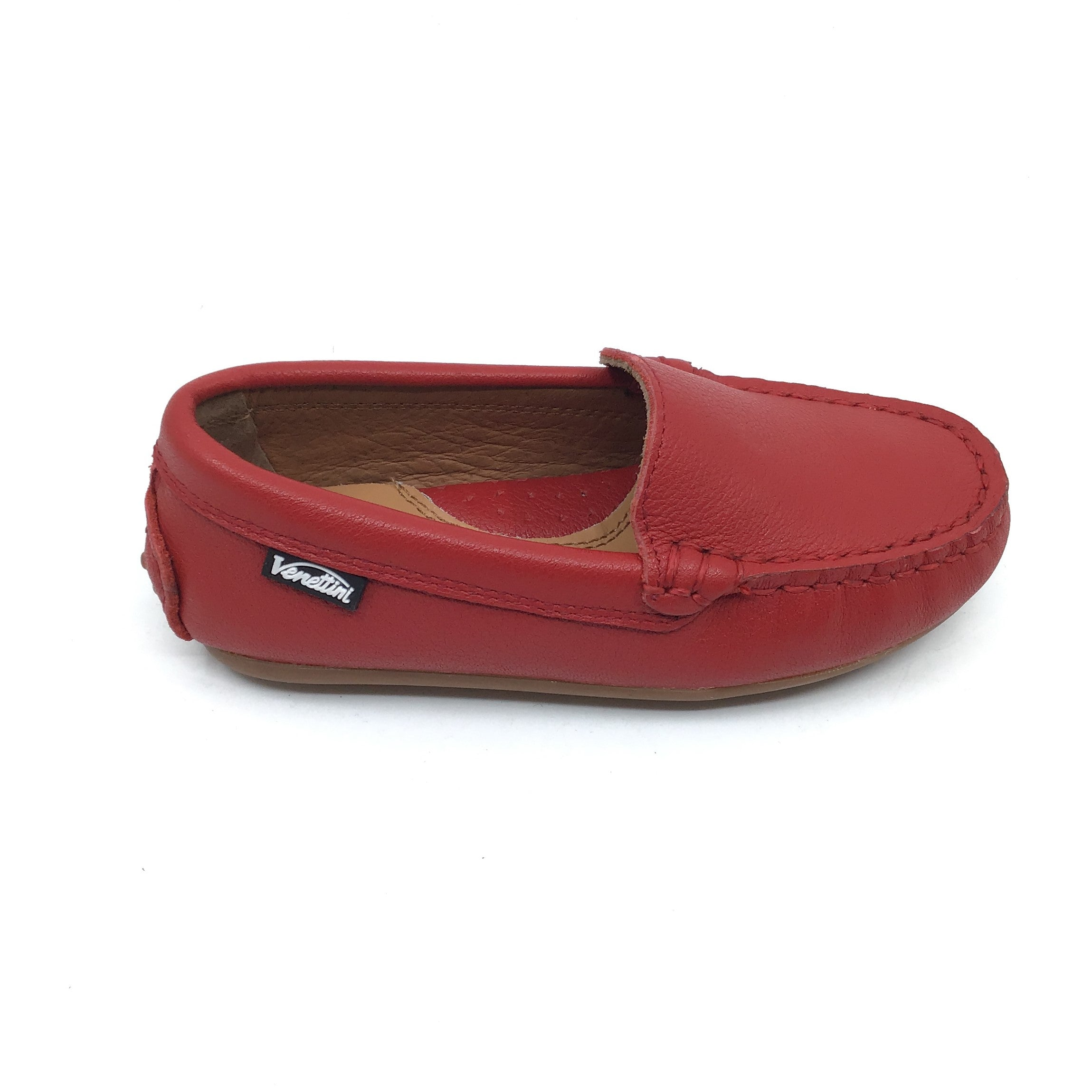 Venettini Red Moccassin