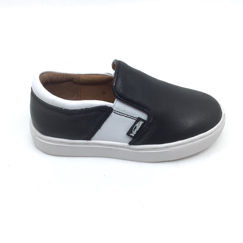Venettini Black and White Sneaker