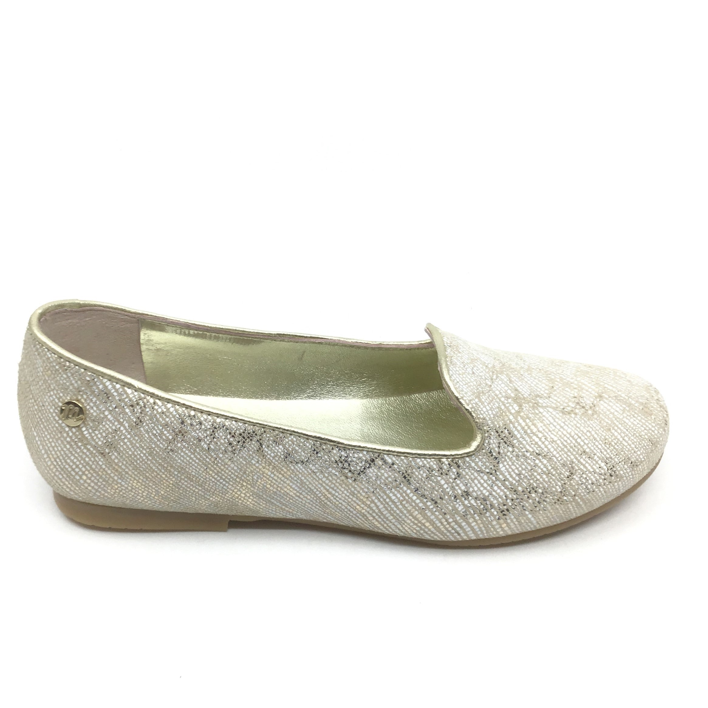 Manuela Platinum Slip On