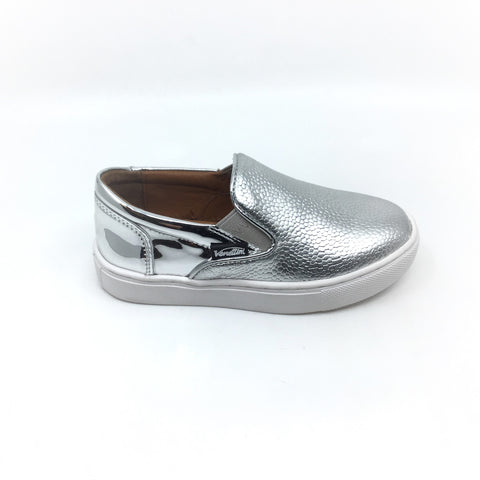 Venettini Silver Slip on with Texture