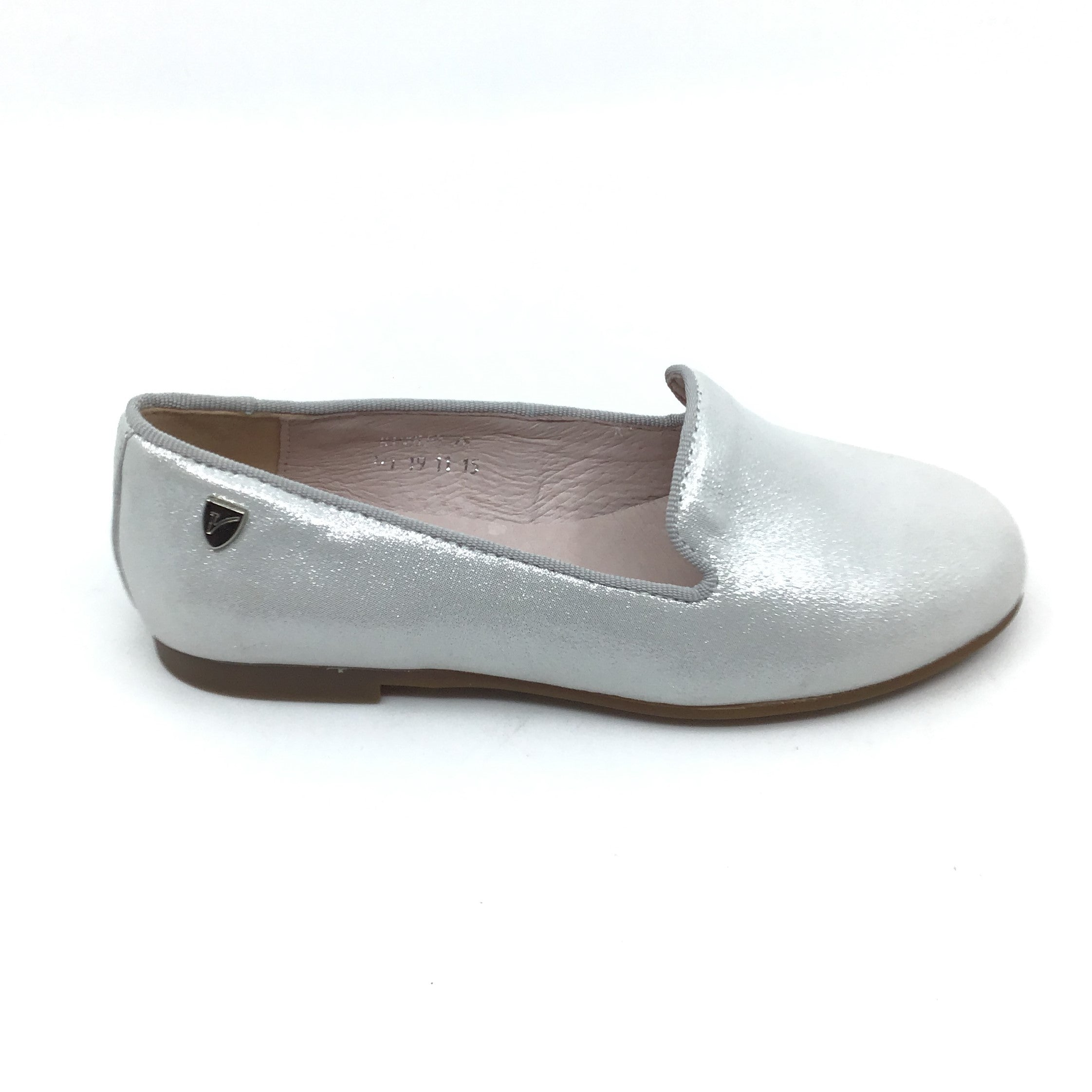 Venettini Silver Sparkle Loafer