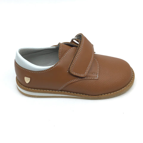 Venettini Brown Velcro Shoe