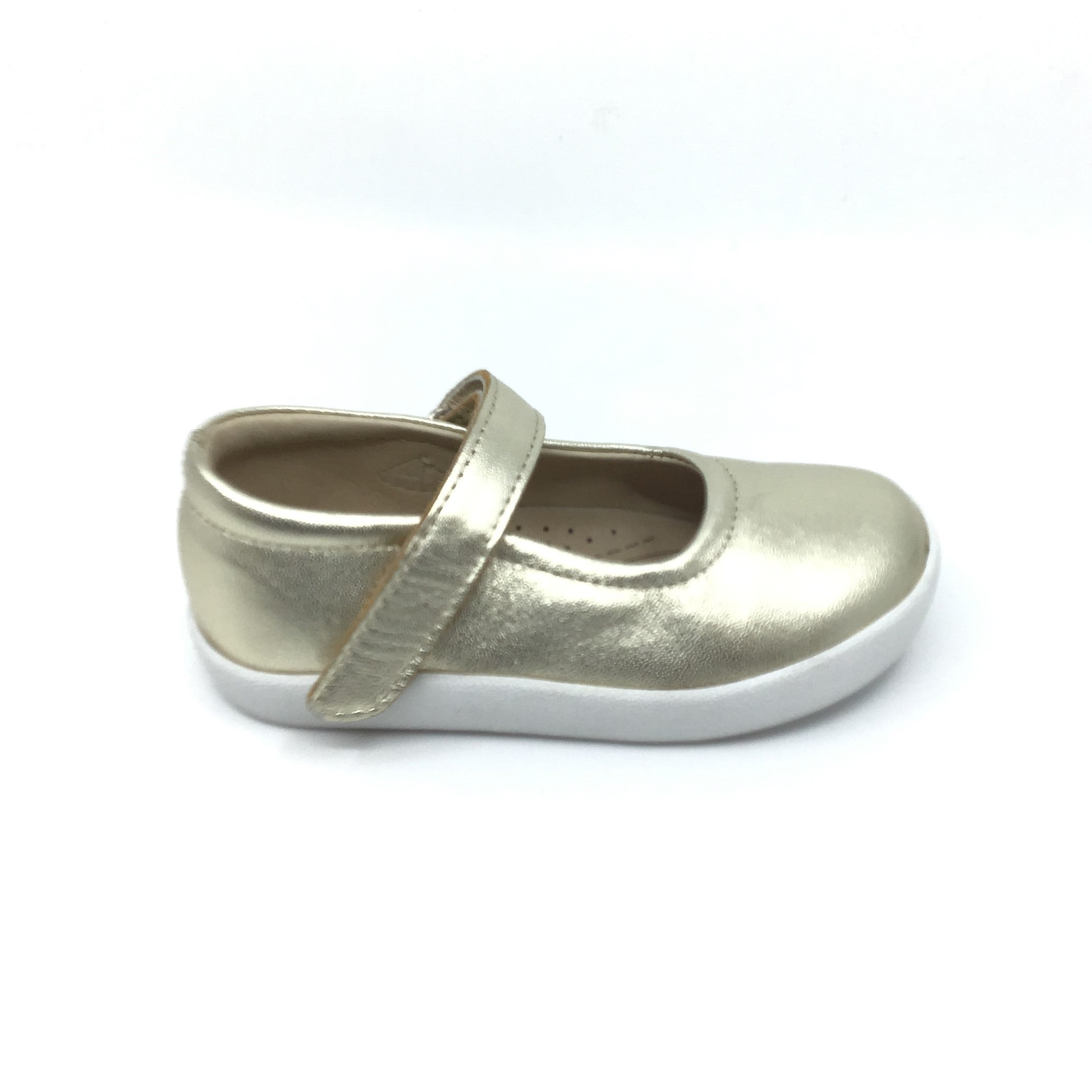 Old Soles Gold Shoe with Velcro Strap
