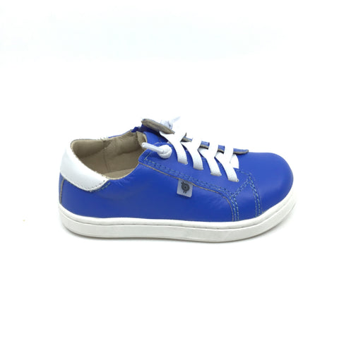 Old Soles Blue Sneaker with White Laces