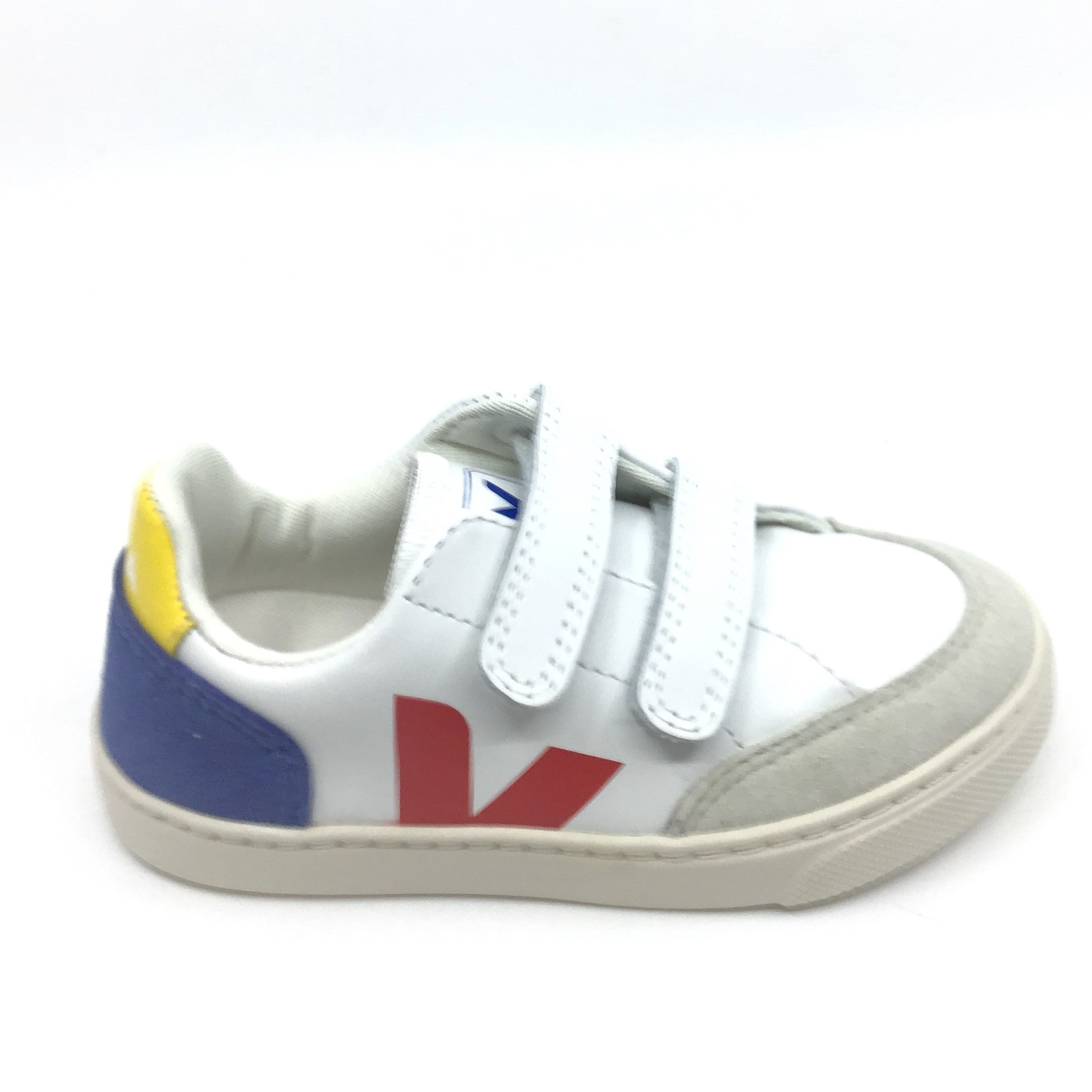 Veja White Sneaker with Red V