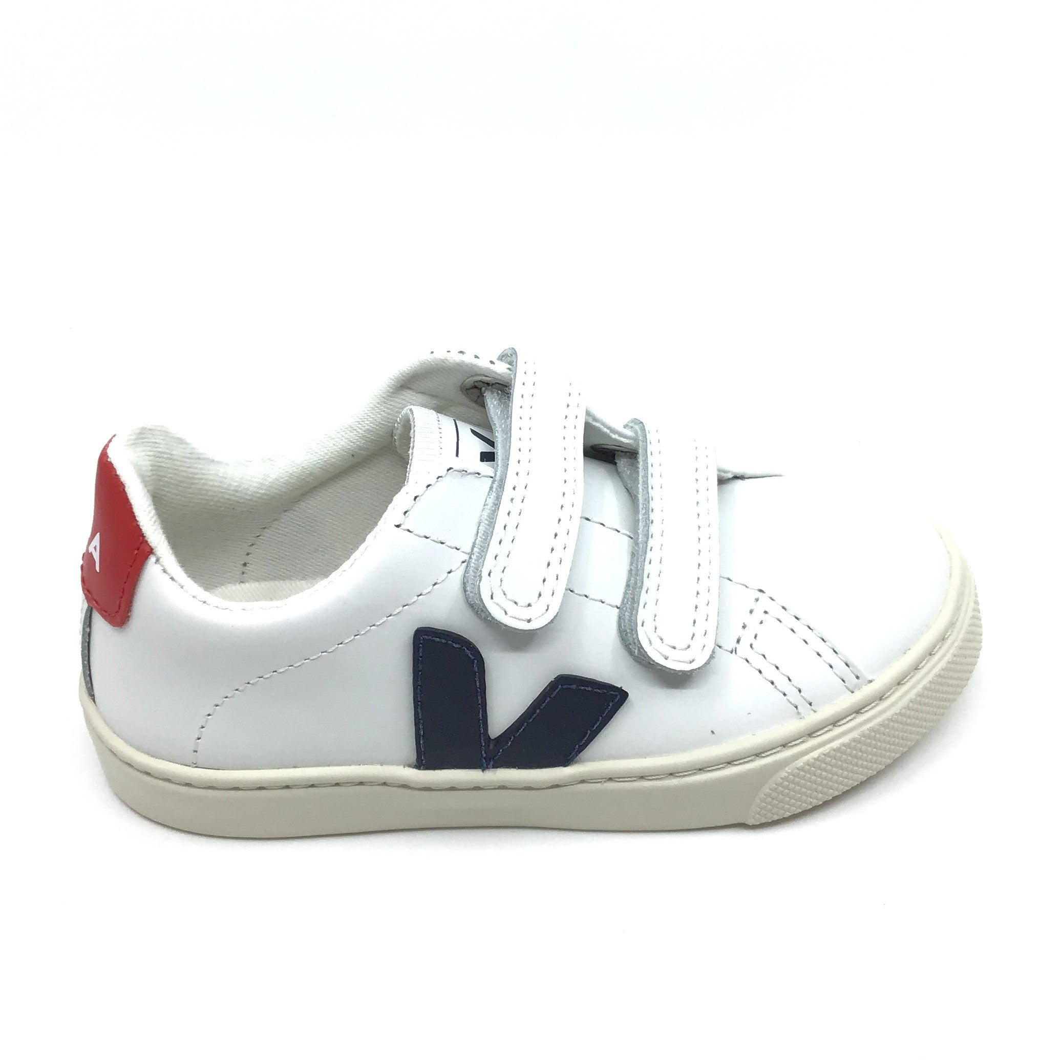 Veja White Sneaker with Black V