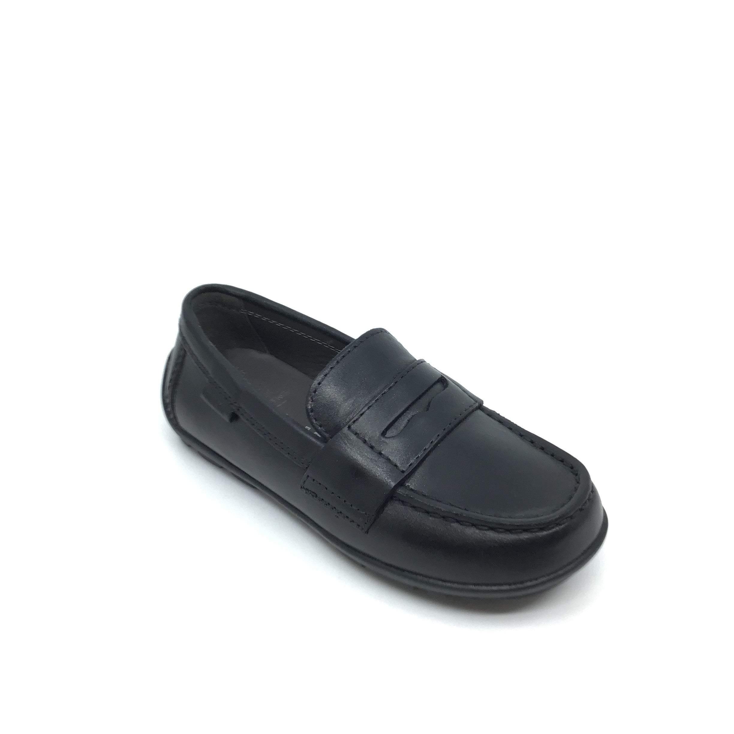 Geox Black Penny Loafer