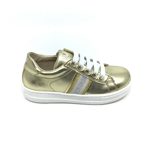 Naturino Gold Sneaker with Trim