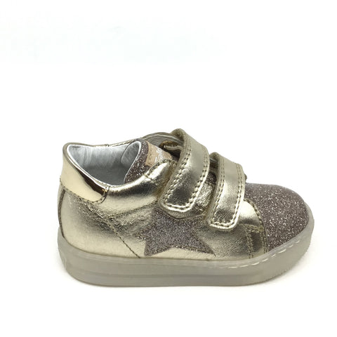 Falcotto Gold Sneaker with Star