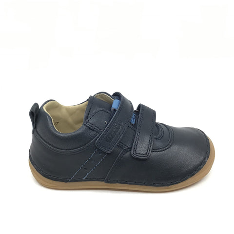 Froddo Navy Double Velcro Shoe