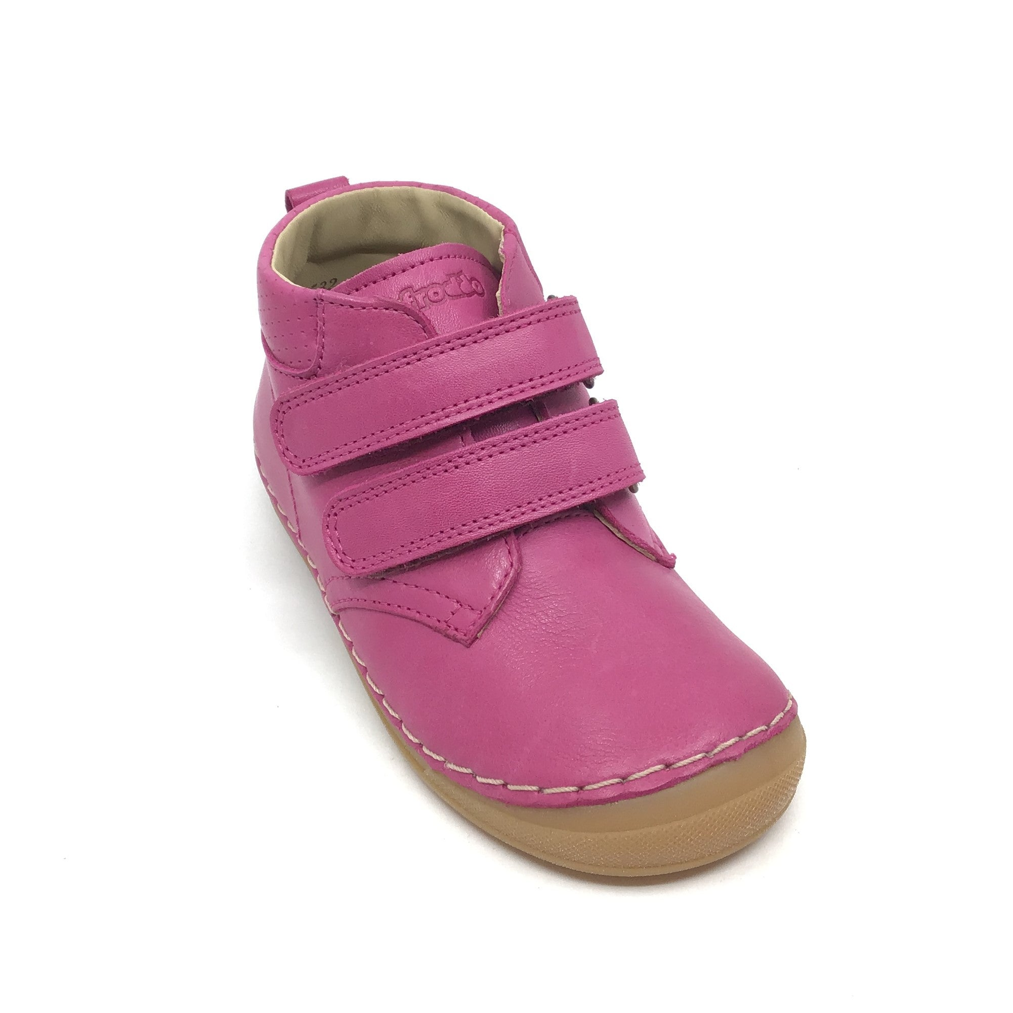 Froddo Fuschia Double Velcro Shoe