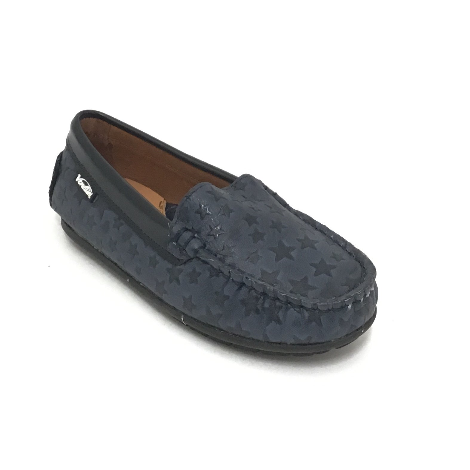 Venettini Navy Slip On with Stars
