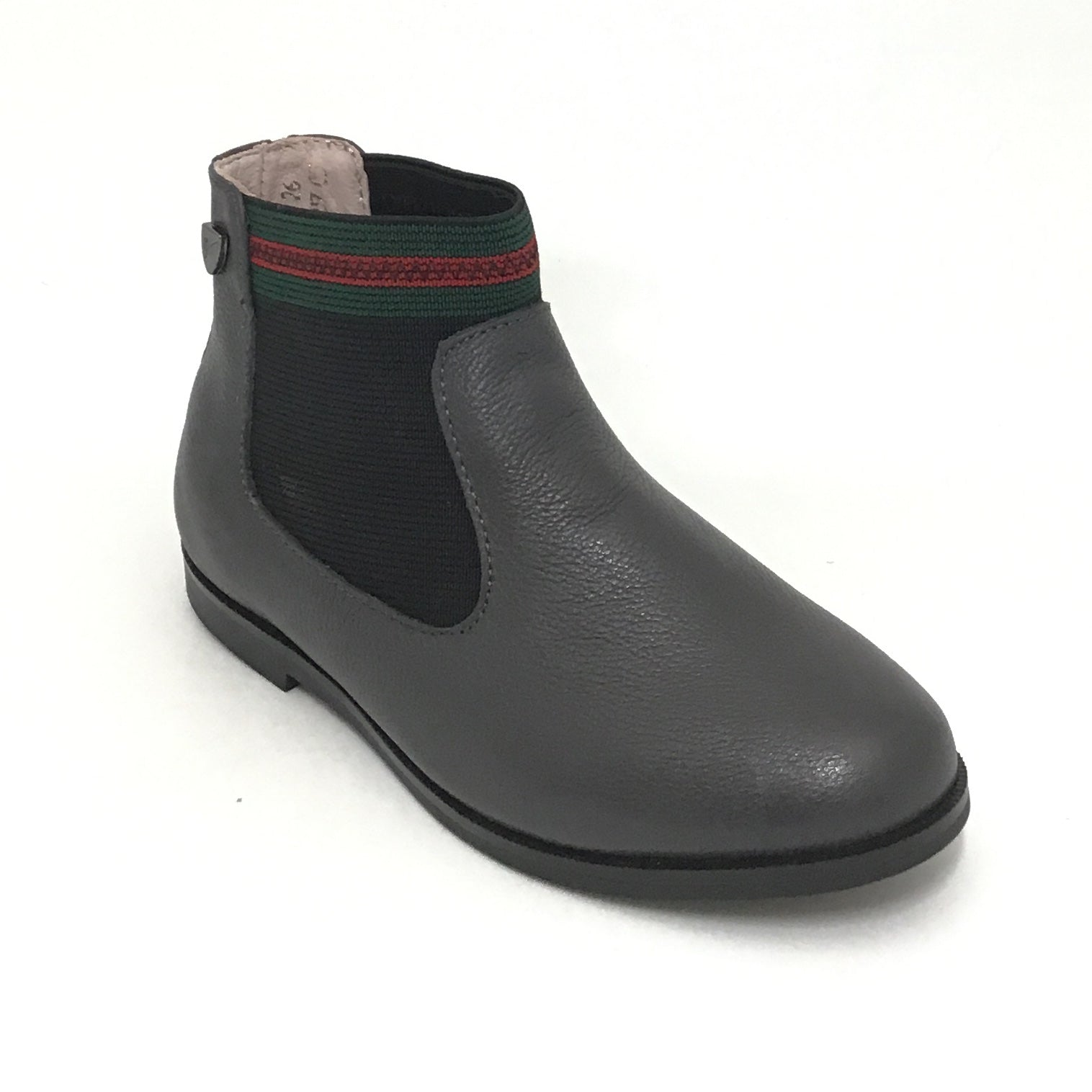 Venettini Gray Boot With Elastic