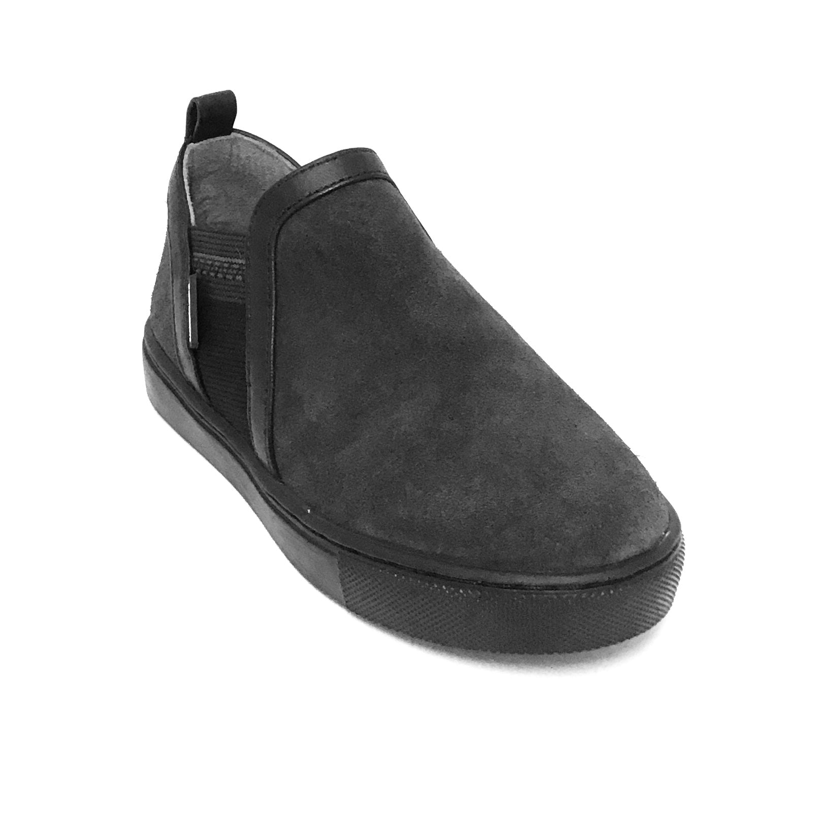 Venettini Gray Suede Slip On Shoe