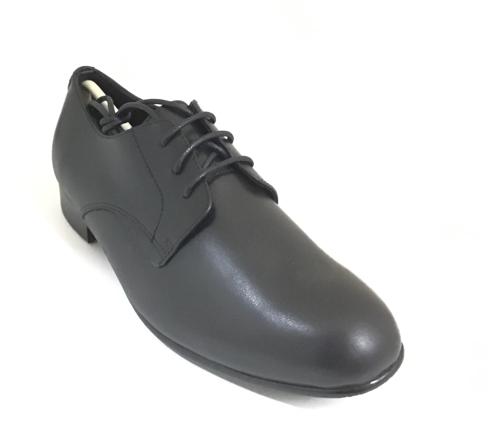 Venettini Black Leather Dress Shoe