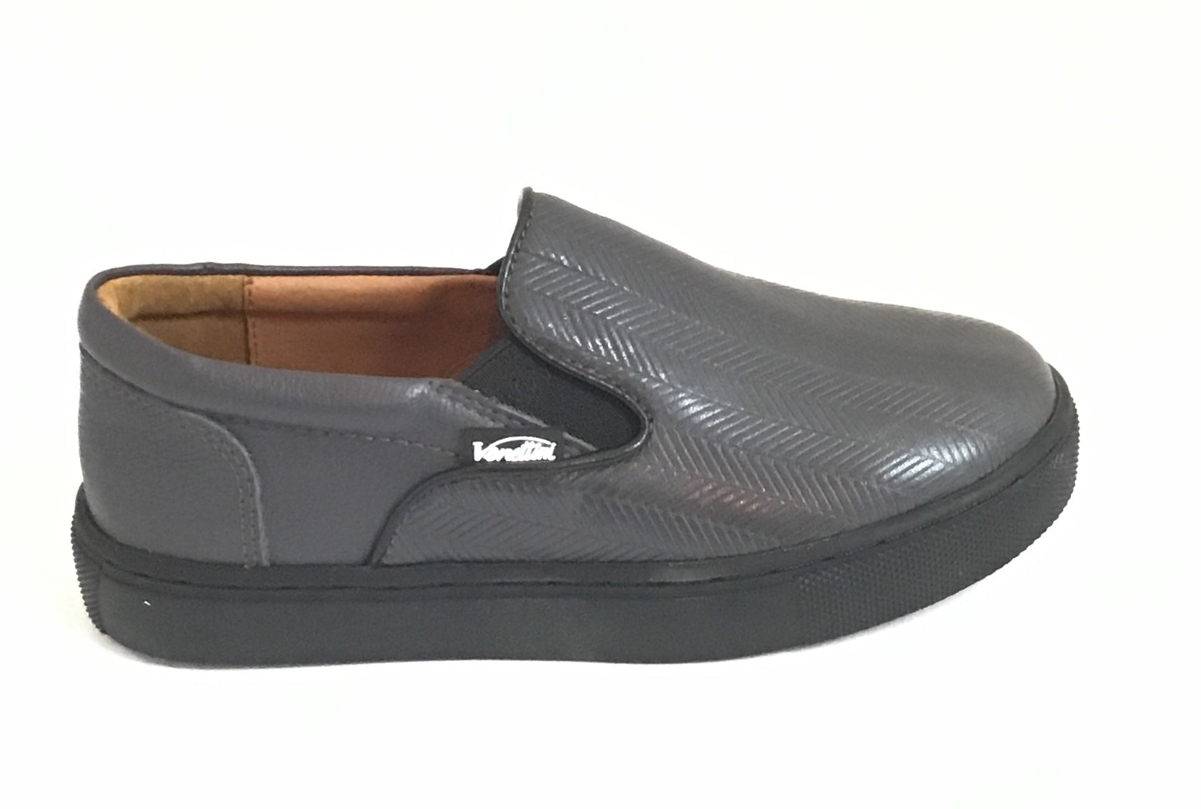 Venettini Gray Pattern Slip On