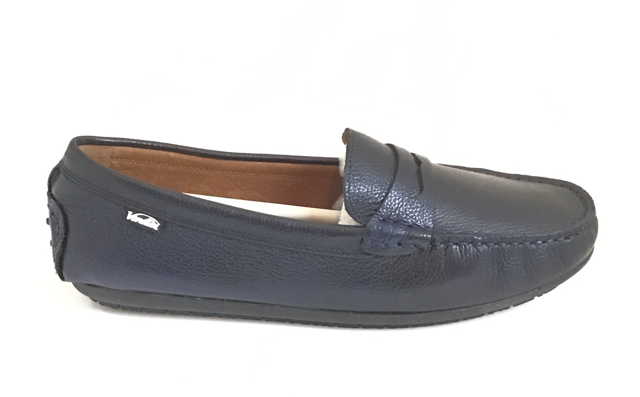 Venettini Navy Penny Loafer