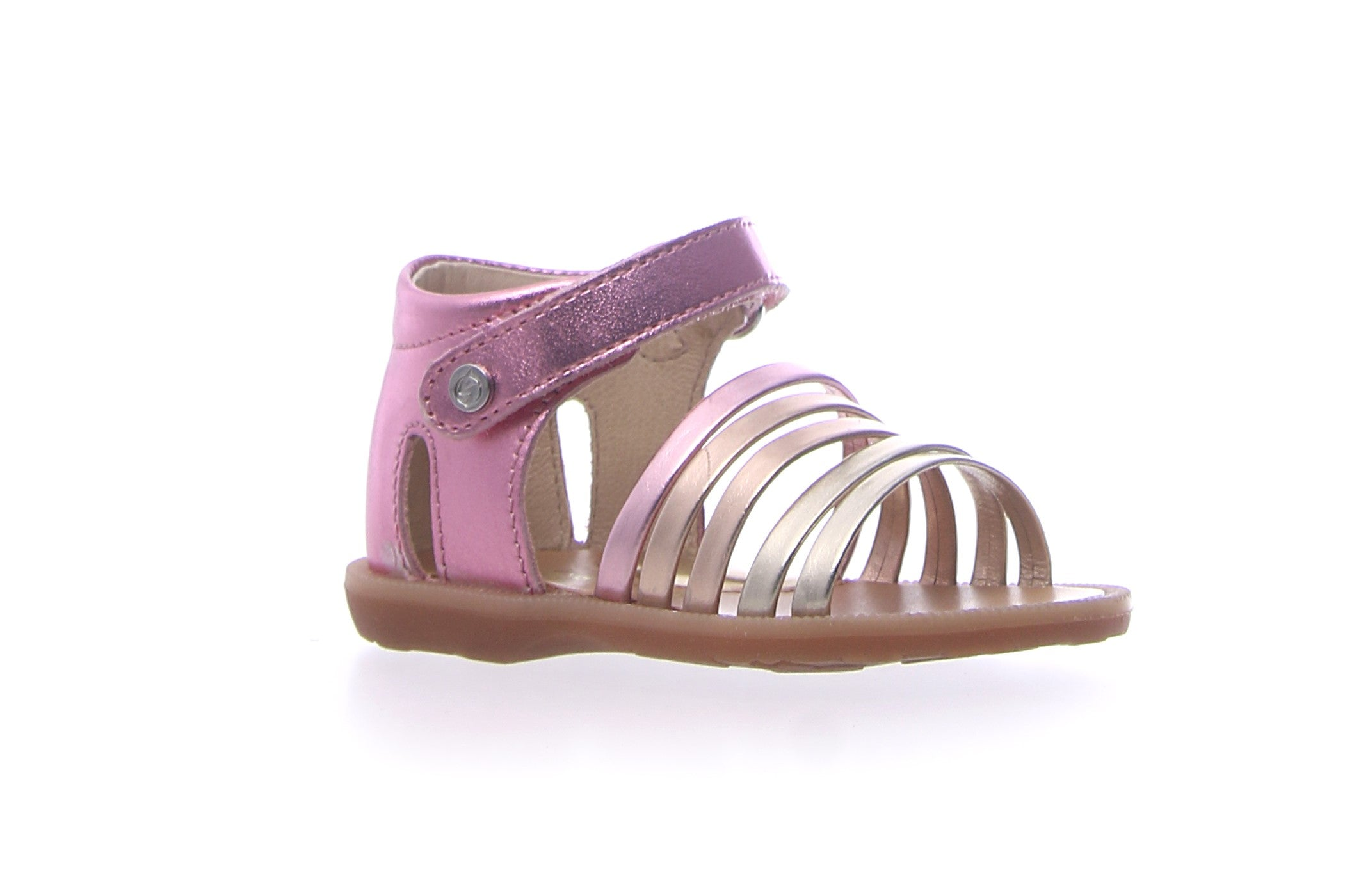 Naturino Pink/Multi Colored Open Sandal