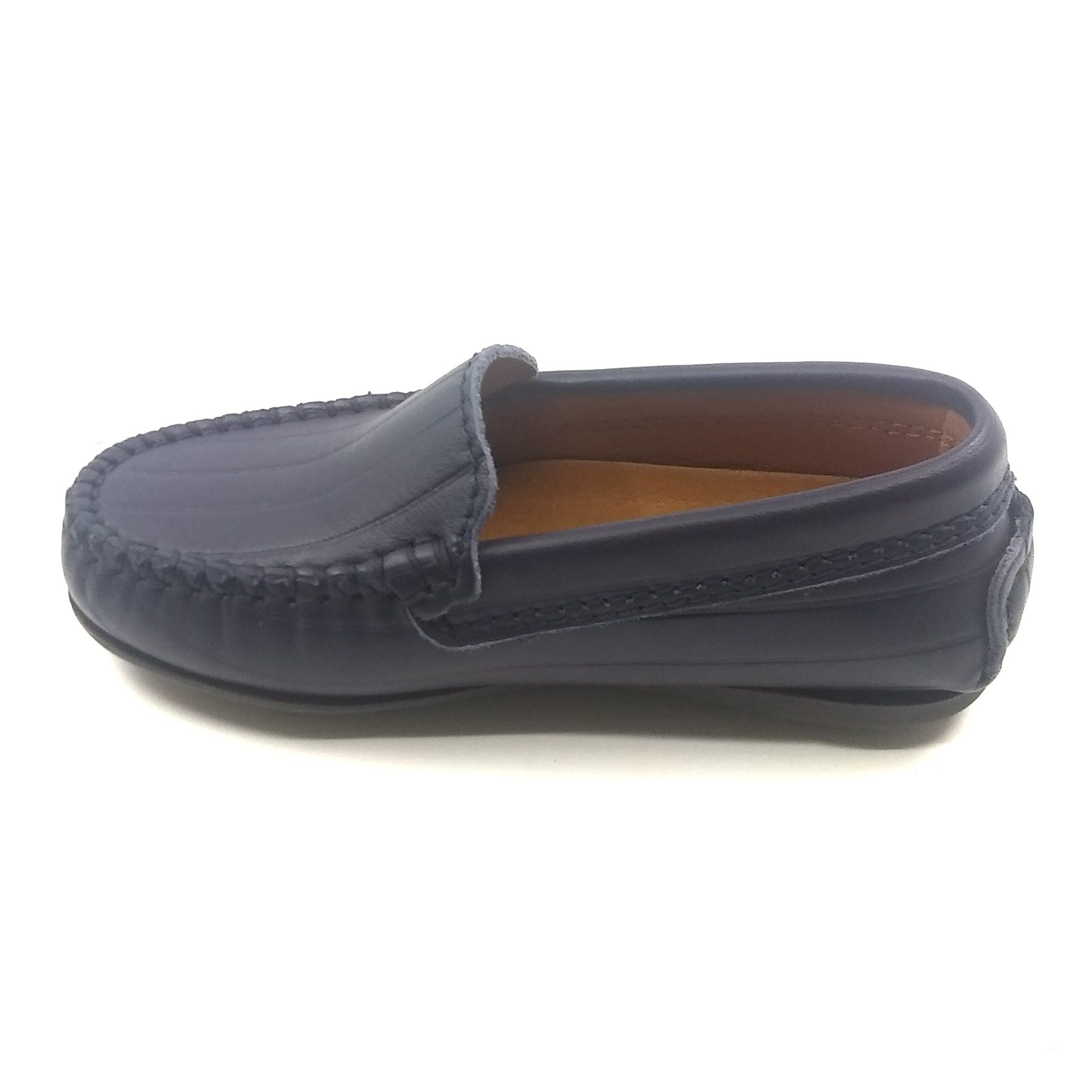 Atlanta Mocassin Navy Loafer