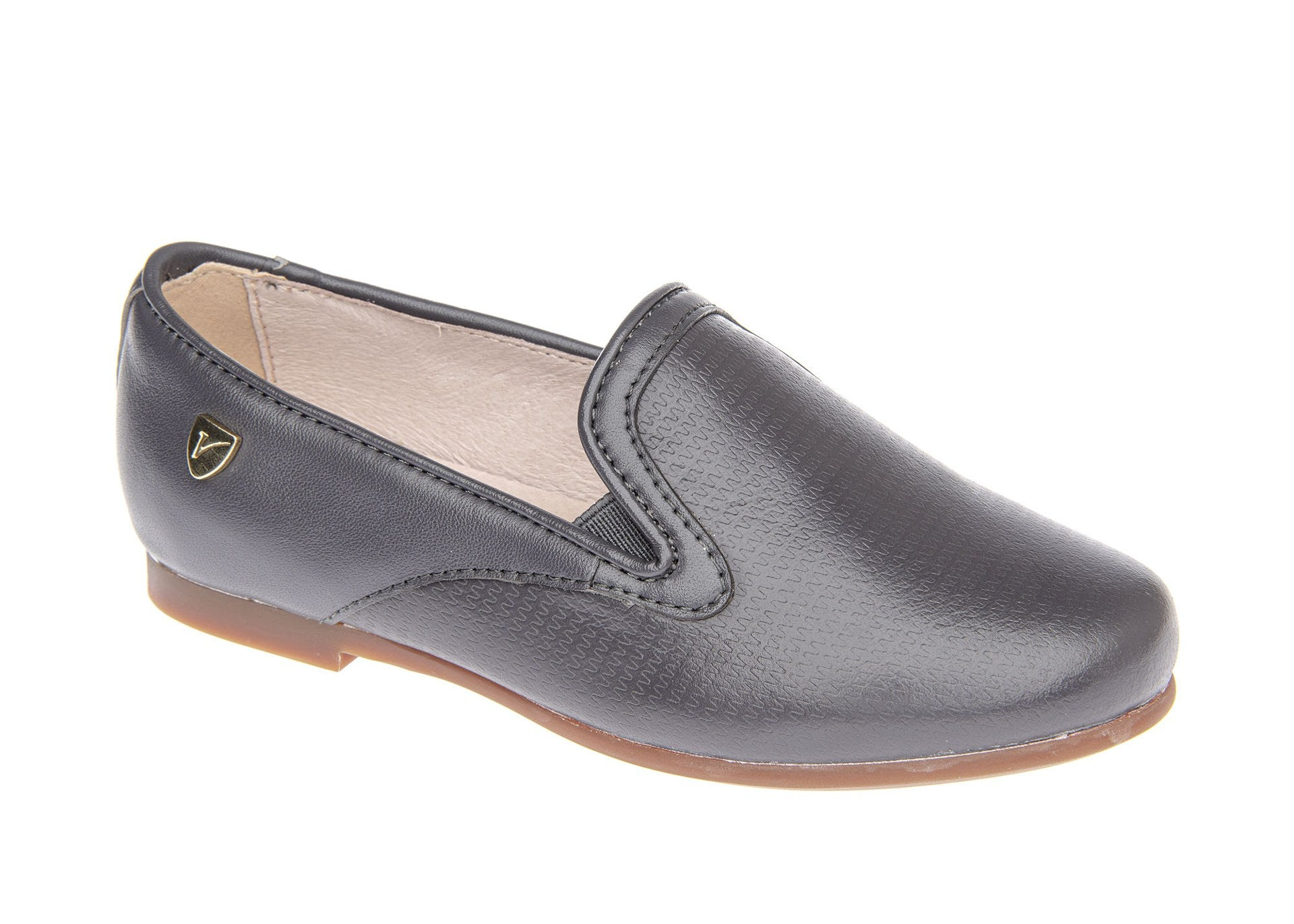 Venettini Gray Elastic Loafer