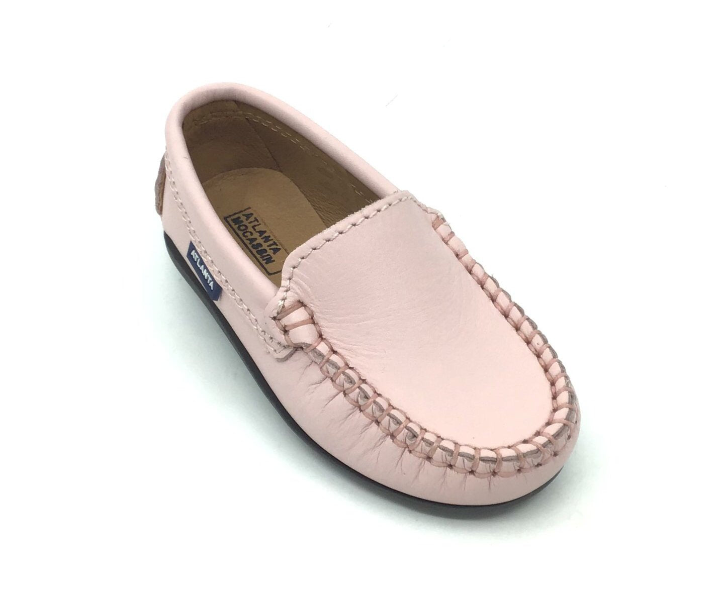 Atlanta Mocassin Pink Loafer