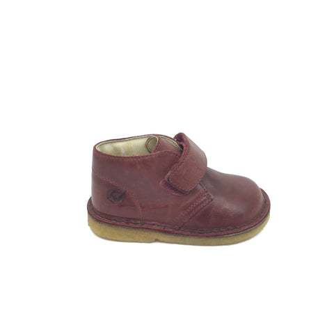 Naturino Burgundy Shoe with Velcro