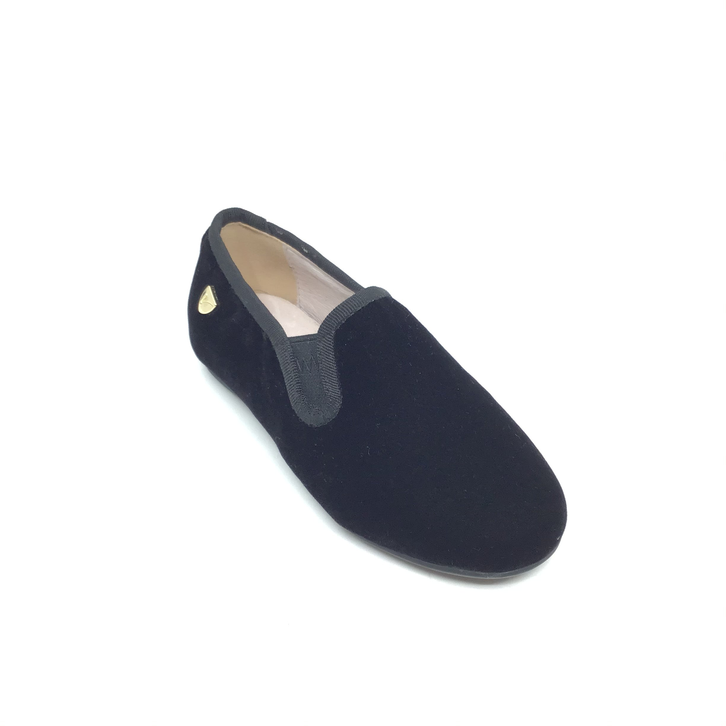 Venettini Black Velvet Shoe
