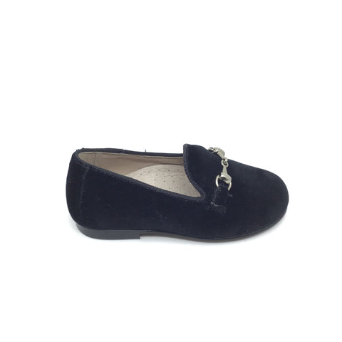 Hoo Black Chain Slip On